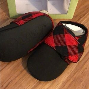 New! JuDanzy Plaid Booties 12-18